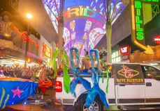 Las Vegas glad stolthet Arkivfoton