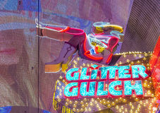 Las Vegas , Glitter Gulch Stock Photography