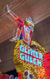 Las Vegas , Glitter Gulch Royalty Free Stock Photography