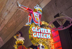 Las Vegas , Glitter Gulch Stock Photo