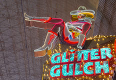 Las Vegas , Glitter Gulch Royalty Free Stock Photo