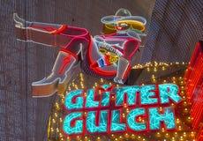 Las Vegas , Glitter Gulch Stock Image