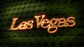 Las Vegas - Glitter Sparkle Text Royalty Free Stock Images