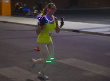 Las Vegas Glow run Royalty Free Stock Image