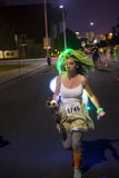 Las Vegas Glow run Stock Image