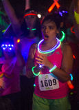 Las Vegas Glow run Royalty Free Stock Images