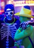 Las Vegas Glow run Royalty Free Stock Photography