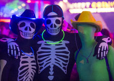 Las Vegas Glow run Stock Photo