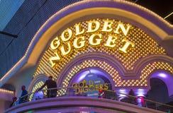 Las Vegas , Golden Nugget Royalty Free Stock Image