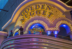 Las Vegas , Golden Nugget Royalty Free Stock Photography