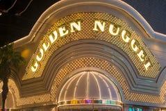Las Vegas , Golden Nugget Stock Photography