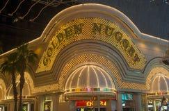 Las Vegas , Golden Nugget Stock Images