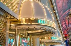 Las Vegas, Gouden Goudklompje Stock Foto