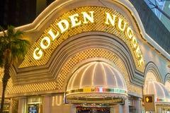 Las Vegas, Gouden Goudklompje Stock Fotografie
