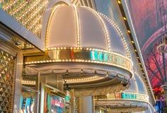 Las Vegas, Gouden Goudklompje Stock Afbeeldingen
