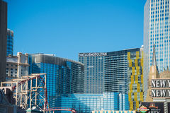 Las Vegas, GRUDZIEŃ - 13, 2013: Las Vegas kasyna na Grudniu 13 zdjęcia stock