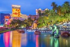 Las Vegas - hägring Arkivfoton