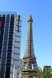 Las Vegas - hôtel et casino de Paris Photo libre de droits
