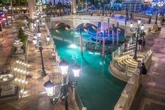 Las Vegas, hôtel vénitien Photos stock