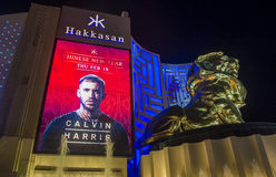 Las Vegas, Hakkasan-Nachtclub Royalty-vrije Stock Afbeelding