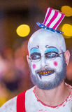 Las Vegas Halloween parade Royalty Free Stock Images