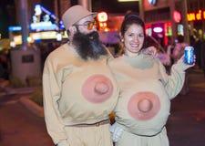 Las Vegas Halloween parade Royalty Free Stock Photos