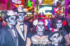 Las Vegas Halloween parade Stock Images