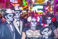 Las Vegas Halloween parade Stock Images