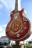 LAS VEGAS - Hard Rock Cafe Imagenes de archivo