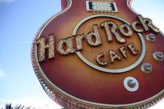 LAS VEGAS - Hard Rock Cafe Fotografía de archivo