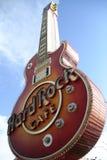 LAS VEGAS - Hard Rock Cafe Fotos de archivo libres de regalías