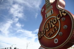 LAS VEGAS -  Hard Rock Cafe Royalty Free Stock Photo