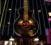 Las Vegas Hard Rock Cafe Guitar Stock Image