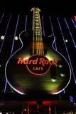 Las Vegas Hard Rock Cafe Sign Royalty Free Stock Photos