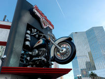 Las Vegas - Harley Davidson – Cafe. Please tell me you ever visited the Harley Davidson Cafe in Las Vegas. Not in New York or Miami ... and in Las Vegas royalty free stock image