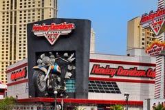 Las Vegas, Harley Davidson Cafe, casinò dell'hotel immagine stock