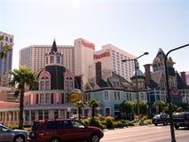 Las Vegas Harrahs Casino. Image of the Harrahs Casino on the Vegas strip in Las Vegas, Nevada Royalty Free Stock Photo