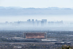 Las Vegas Haze Royalty Free Stock Images