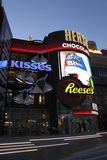 Las Vegas Hershey Store by Night Royalty Free Stock Images