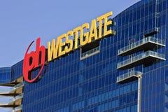 Las Vegas High Rise Window Washers Royalty Free Stock Photos