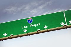 Las Vegas Highway 15 Stock Photos