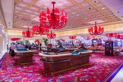 Las Vegas, hotel di bis fotografie stock libere da diritti