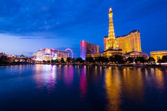 Las Vegas. Hotel Paris in Las Vegas, Nevada royalty free stock photography