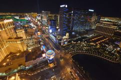Las Vegas, hotel y casino, hotel y casino, zona metropolitana, paisaje urbano, zona urbana, ciudad de Bellagio de París imágenes de archivo libres de regalías