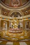 Las Vegas hotelllobby Royaltyfri Fotografi