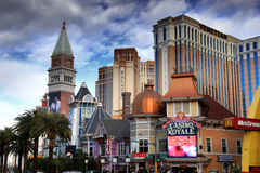 Las Vegas hotels Stock Images