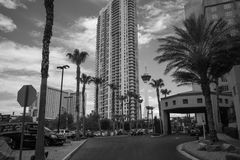 Las Vegas Hotels and Apartments Stock Photography