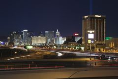 Las Vegas and I-15 Stock Image