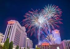 Las Vegas il quarto luglio Immagine Stock