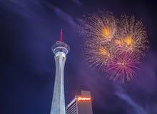 Las Vegas il quarto luglio Immagine Stock Libera da Diritti